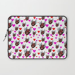 Sneaky Cat Face Laptop Sleeve