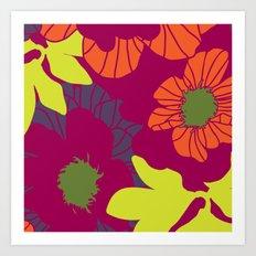 Rooftop Garden-Violeta Art Print