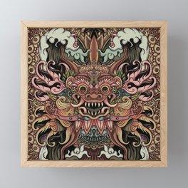Bali Smile Framed Mini Art Print