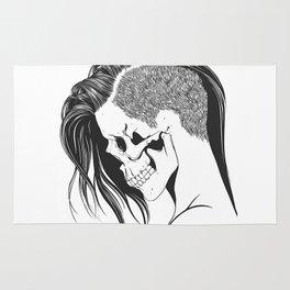 women skull  Rug