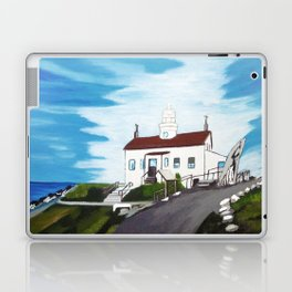 Battery point Lighthouse ( Crescent City, CA ) Laptop & iPad Skin