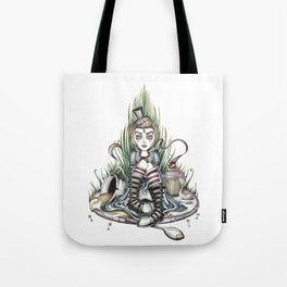 Tea Time is Over Tote Bag