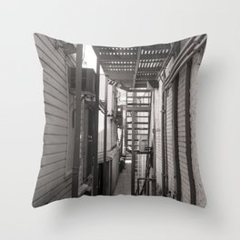 Places that are overlooked Throw Pillow