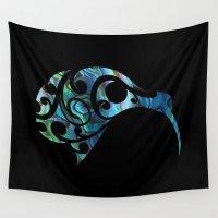 kiwi Wall Tapestries featuring Kiwi by Boz Designs