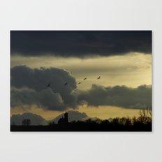 Dark idyll Canvas Print