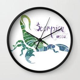 Scorpion Mood  Wall Clock