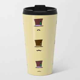 Hats & Moustaches Travel Mug