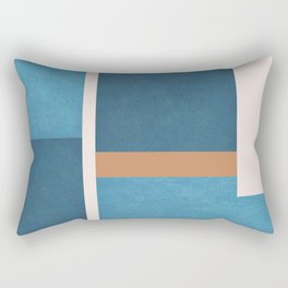 Intercepts, Geometric Forms Shapes Rectangular Pillow