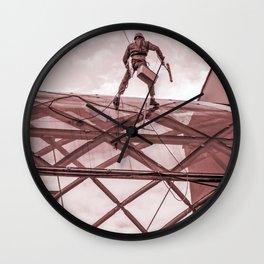 Daily risk Wall Clock