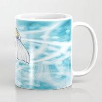 xmen Mugs featuring Emma Frost by DaniSantos