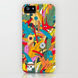 Jungle Party iPhone Case
