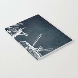 Design for a Helicopter Notebook