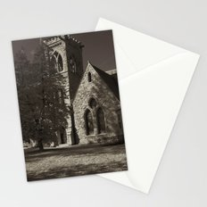 Chapel at Night Stationery Cards