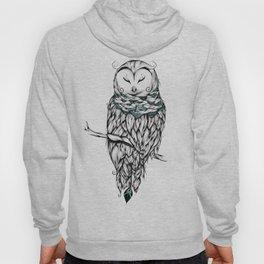Poetic Snow Owl Hoody
