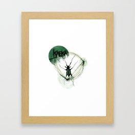 Kafka Hommage Framed Art Print