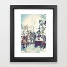 Seurasaari Framed Art Print