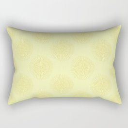 Dahlia Bloom Rectangular Pillow