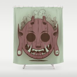 Wooden Djinn Shower Curtain