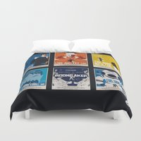 bond Duvet Covers featuring Bond #2 by Alain Bossuyt