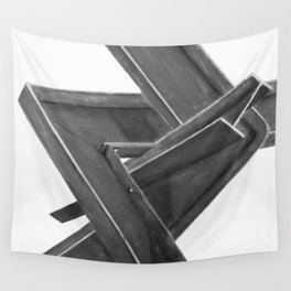 I beam Sculpture 2 Wall Tapestry