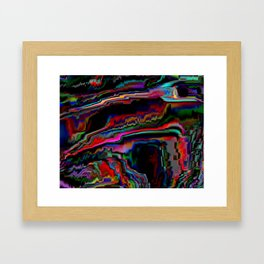 distort_01 Framed Art Print