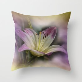 clock face -109- Throw Pillow