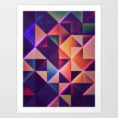 lyng pyst gwnn Art Print