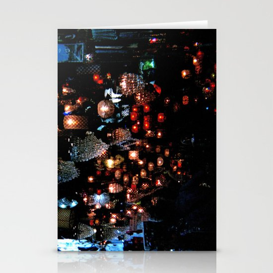 Lanterns in the Souk, Istanbul Stationery Cards