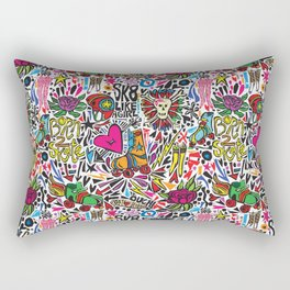 Derby Girl Rectangular Pillow