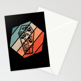 Retro Coffing Funeral Director Embalber Death Gift Stationery Cards