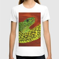 snake T-shirts featuring Snake by maggs326