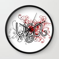 georgia Wall Clocks featuring Georgia by Tanie