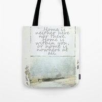 degas Tote Bags featuring Hesse speaks by anipani