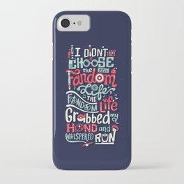 Fandom Life iPhone Case