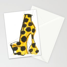 Orange Shoes Stationery Cards