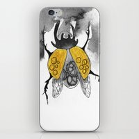 beetle iPhone & iPod Skins featuring Beetle by Dnzsea