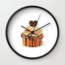 Caramel Delight Wall Clock