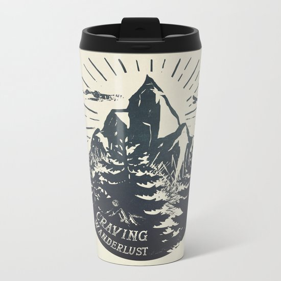 Craving wanderlust III Metal Travel Mug
