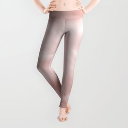 Rose brown Marble texture Leggings
