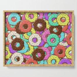 so many donuts Serving Tray