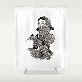 Fairest of All Shower Curtain