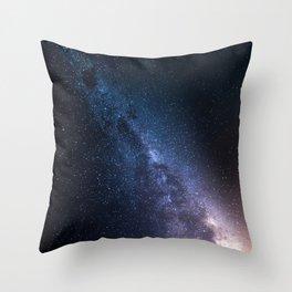 Sharp Milky Way Throw Pillow