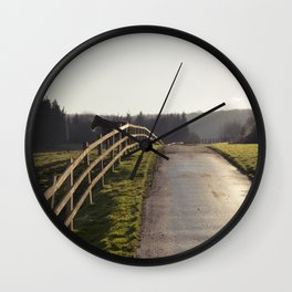feeling a little horse... Wall Clock