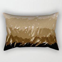 Shades of Sepia Rectangular Pillow