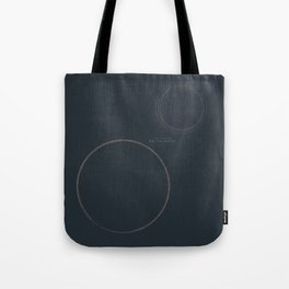 Melancholia, Lars von Trier, minimal movie poster, Danish film Tote Bag