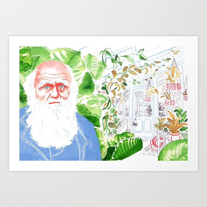 Darwin's Laboratory Art Print