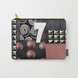 PALE ROSE #THE 7 Carry-All Pouch
