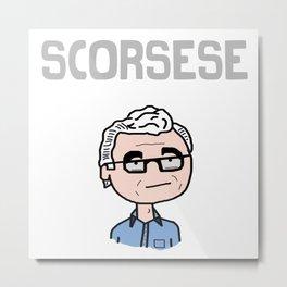 Director: Martin Scorsese Metal Print