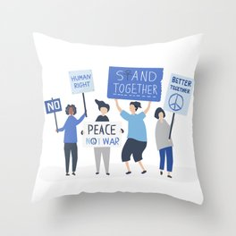 Advocate - Women's Month Throw Pillow