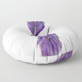 Twin Feathers Floor Pillow